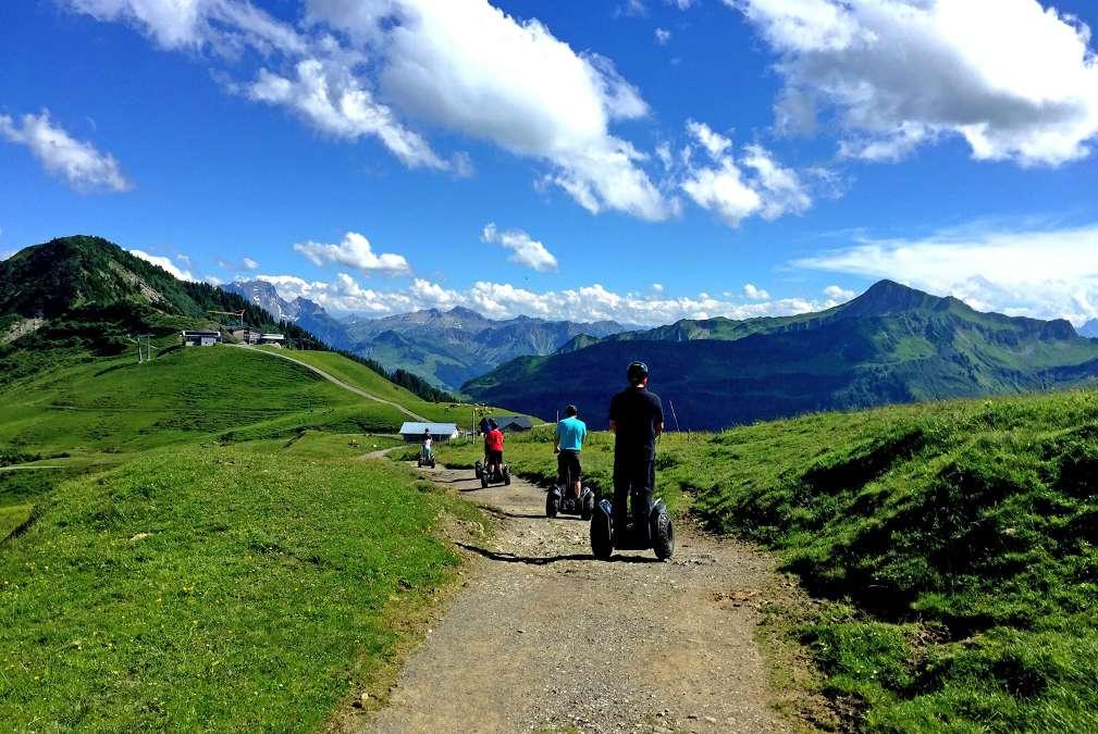 Segway Tours In Damuls Summer Holiday In The Vorarlberg Region